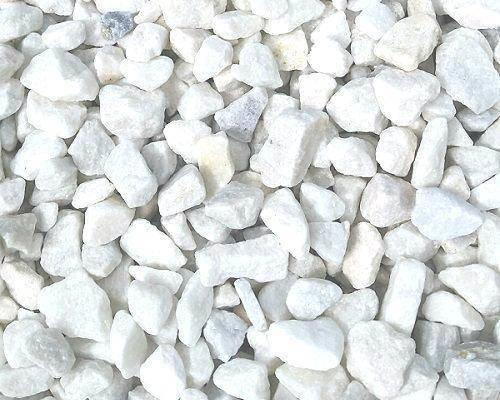 Incroyable 20mm Polar White Garden/driveway Stones,gravel,chips.