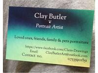 Portraiture artist available