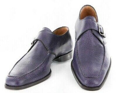 Sutor Mantellassi Zapatos Morados Talla 8 ( Ee. Uu. ) / 7...