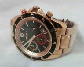 Authentic Zeitner sports chronograph men's wristwatch (Brand new)