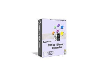Cucusoft DVD to iPhone video Converter Software