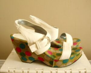 Wedge Sandals - Size 7
