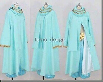 Princess Jasmine Costume For Adults (Aladdin Princess Jasmine Dress ALADDIN DRESS CAPE Cosplay Costume For)