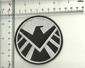 S.H.I.E.L.D. (IRON-MAN) New Marvel SHIELD AGENT Movie,EMBROIDERED PATCH - BADGE