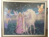 'Fairyland' Painting in Frame