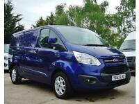 2014 FORD TRANSIT CUSTOM 2.2 TDCi 270 125ps Low Roof Limited Van