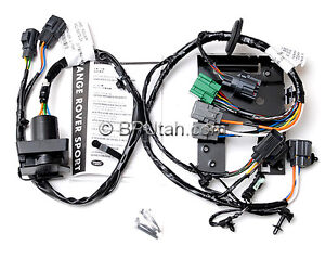 2010 2011 range rover sport tow hitch trailer wiring harness electric vplst0016
