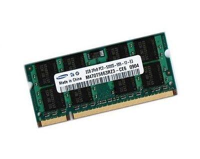2GB DDR2 RAM Speicher Toshiba Satellite U300 U400 X200