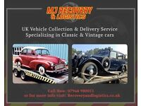 Mj recovery ,collection and delivery , vehicles transported no job to big or small