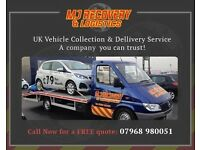 Vehicle vans cars Recovery, collection delivery tranportion