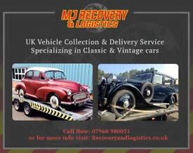 Vehicle Recovery / vehicle collection / vehicle delivery / transportation / classic cars / salvage /