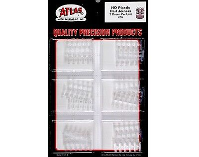 Atlas HO Code 100 Insulated Rail Joiners #55 (Code 100 Rail Joiners)