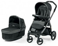 Poussette Peg Perego Book Pop Up en gris