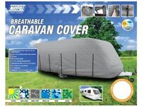 Maypole Grey Caravan Cover – Fits caravans 5.6M (19') to 6.2m (21')
