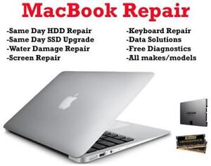 Macbook Retina screen repair all models