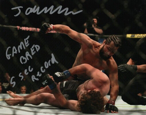 ** JORGE MASVIDAL SIGNED PHOTO 8X10 RP AUTOGRAPHED MMA UFC FIGHTING !