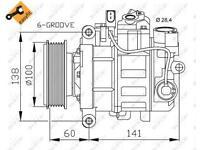 Regelventil Kompressor NRF 38460