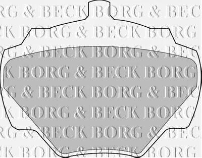 Heck Bremse Bremsbeläge Satz Borg & Beck für Land Rover Defender