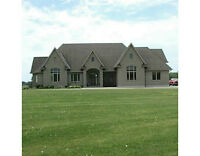 10 ACRES MINUTES FROM KW WITH CONCRETE BUILT MANSION