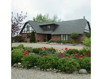 34 Acre Hobby/Horse Farm Close to Guelph with INDOOR ARENA