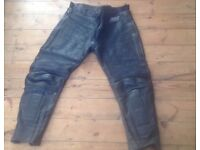 Swift Motorcycle Leather Trousers - Size 36