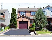 Fully Renovated Freehold Endunit For Sale In Orleans!