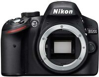 D3200 or D5100 Nikons wanted