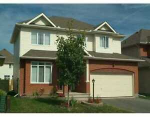 Large single house for rent (Barrhaven)