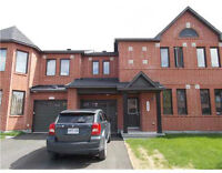 Newer townhome in Barrhaven for rent