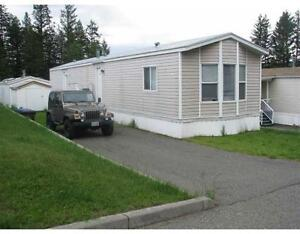 Quick and easy possession on this 3 bedroom mobile home Williams Lake Cariboo Area image 1