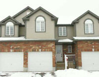 Wonderful 3 bed, 2 bath townhouse with no neighbors behind you!