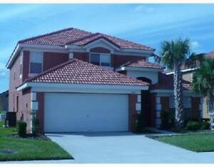 CLOSE TO DISNEY PARKS 5 BEDROOM POOL HOME IN GATED RESORT