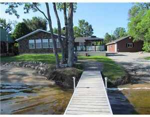 3-bedroom waterfront home/cottage for sale