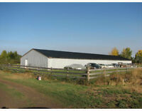 Rent to Own 2 acres + 5,000 sq ft building Carstairs area Watch|