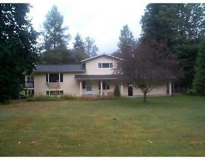 Acreage with family home and guest house - 5191 Skeena Dr
