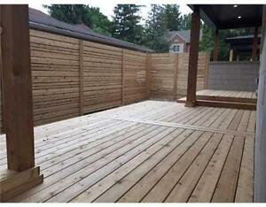 DSL DECKS & FENCE - 20% OFF SPRING BOOKINGS - 819-431-3767