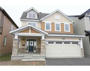 4 Bedroom Single House for Rent at Barrhaven Half Moon Bay