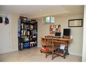 3 bedroom downstairs unit on East Hamilton Mountain for rent