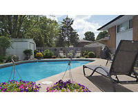 Forest Hill Backsplit with beautiful POOL and landscaped yard