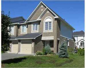 2-storey end unit townhome in the Kanata north business park