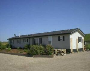 Mobile home on 5 acres Rural Mountain View County
