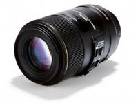 New Sigma 105mm f/2.8 EX DG OS HSM Macro Lens for Canon DSLR Cameras