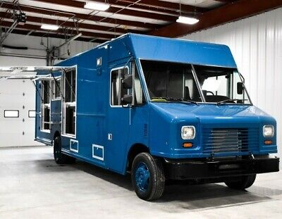 New Concession Food Truck For Sale-- Includes Pass-through Refrigerators Ready