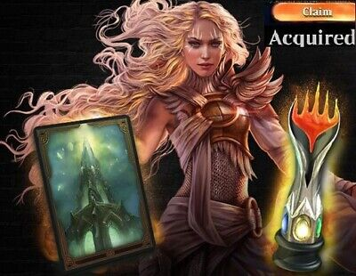 MTG Arena Code IKORIA box preorder Pet Sleeve and Avatar Message delivery MTGA