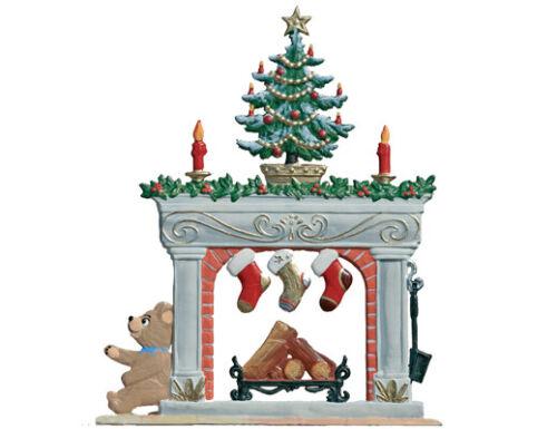 "WILHELM SCHWEIZER GERMAN ZINNFIGUREN Standing Fireplace (3"" x 3.5"")"