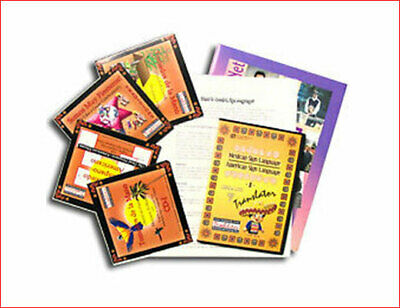 American Sign Language Mexican Heritage 5 CD-ROM Set  American Sign Language 5 Cd