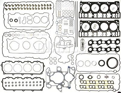 03-06 FITS FORD F250 F350  POWERSTROKE DIESEL 6.0 MAHLE  FULL GASKET SET