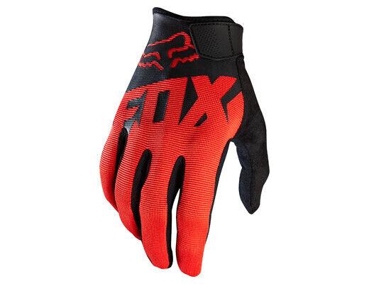 Fox Racing RANGER Race Gloves - Motocross Dirtbike MX ATV Riding Gear BLACK/RED