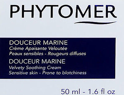 Phytomer Douceur Marine Velvety Soothing Cream Sensitive Skin 50ml Brand (Velvety Soothing Skin Cream)