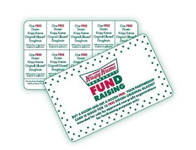 KRISPYKREME Fundraising BOGOCard**Buy 1 Dozen & Get 1 Dozen**